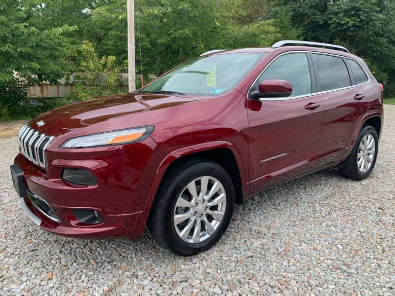 2018 Jeep Cherokee for sale at Reds Garage Sales Service Inc in Bentleyville PA