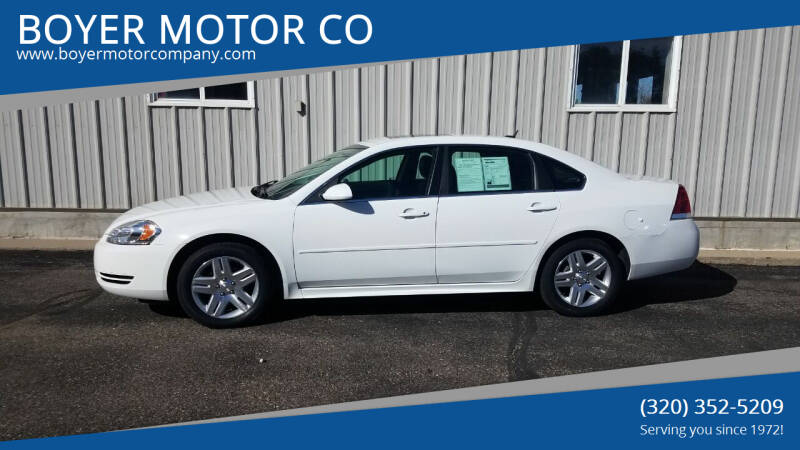2014 Chevrolet Impala Limited for sale at BOYER MOTOR CO in Sauk Centre MN