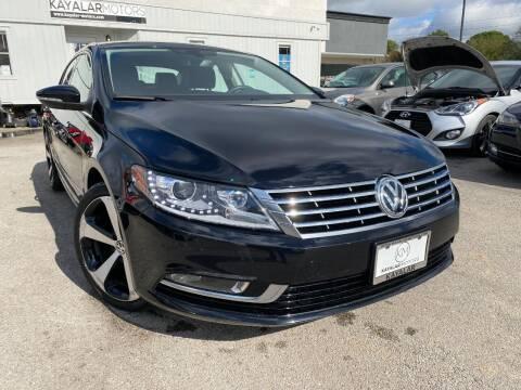 2016 Volkswagen CC for sale at KAYALAR MOTORS in Houston TX