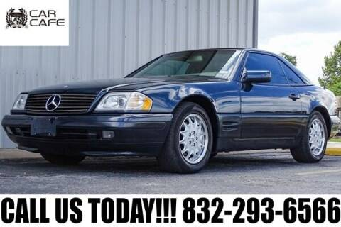 1998 Mercedes-Benz SL-Class for sale at CAR CAFE LLC in Houston TX