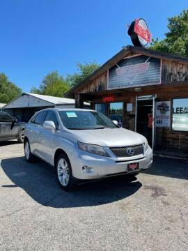 2010 Lexus RX 450h for sale at LEE AUTO SALES in McAlester OK