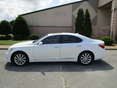 2012 Lexus LS 460 for sale at JON DELLINGER AUTOMOTIVE in Springdale AR