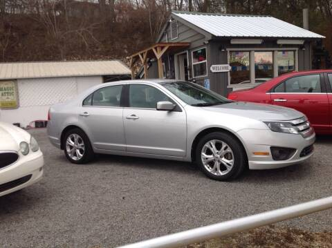 2012 Ford Fusion for sale at GIB'S AUTO SALES in Tahlequah OK