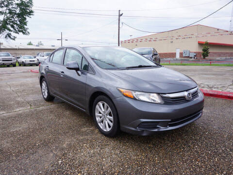 2012 Honda Civic for sale at BLUE RIBBON MOTORS in Baton Rouge LA
