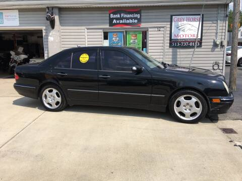 2002 Mercedes-Benz E-Class for sale at Grey Horse Motors in Hamilton OH