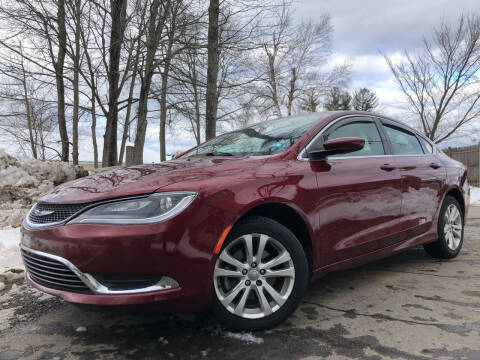 2015 Chrysler 200 for sale at J's Auto Exchange in Derry NH