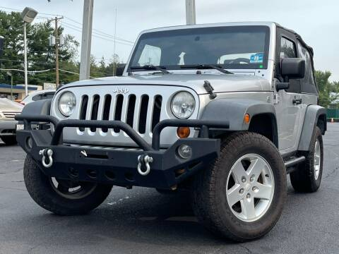 2007 Jeep Wrangler for sale at MAGIC AUTO SALES in Little Ferry NJ