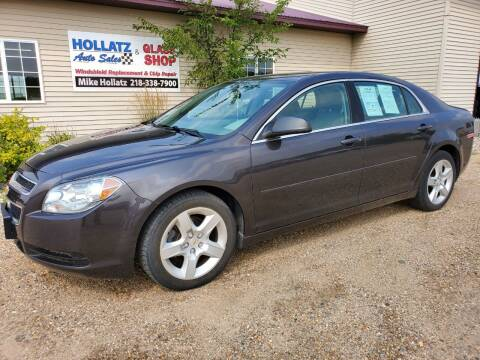 2012 Chevrolet Malibu for sale at Hollatz Auto Sales in Parkers Prairie MN