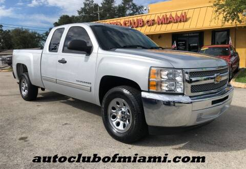 2013 Chevrolet Silverado 1500 for sale at AUTO CLUB OF MIAMI, INC in Miami FL