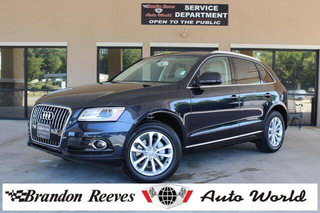 2016 Audi Q5 for sale at Brandon Reeves Auto World in Monroe NC
