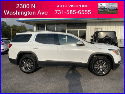 2017 GMC Acadia for sale at Auto Vision Inc. in Brownsville TN