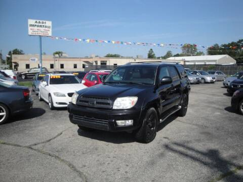 2003 Toyota 4Runner for sale at A&S 1 Imports LLC in Cincinnati OH