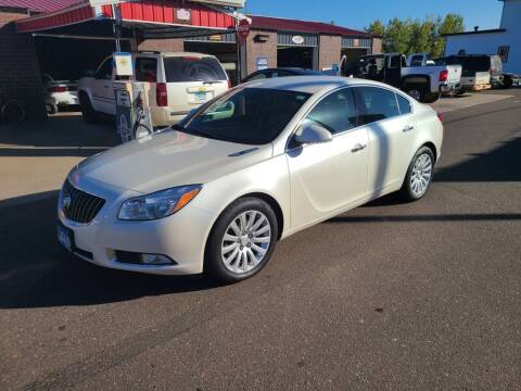 2012 Buick Regal for sale at Rum River Auto Sales in Cambridge MN