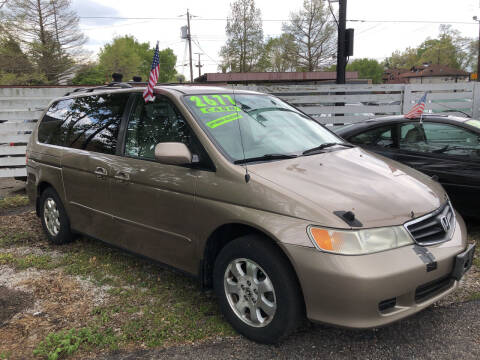 2004 Honda Odyssey for sale at Klein on Vine in Cincinnati OH