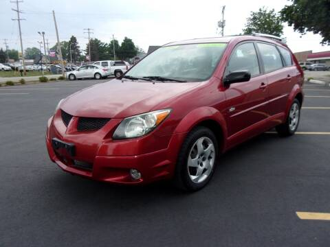 2004 Pontiac Vibe for sale at Ideal Auto Sales, Inc. in Waukesha WI