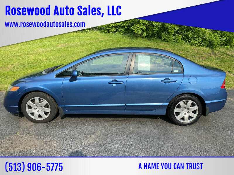 2007 Honda Civic for sale at Rosewood Auto Sales, LLC in Hamilton OH