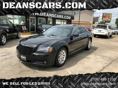 2012 Chrysler 300 for sale at DEANSCARS.COM in Bridgeview IL