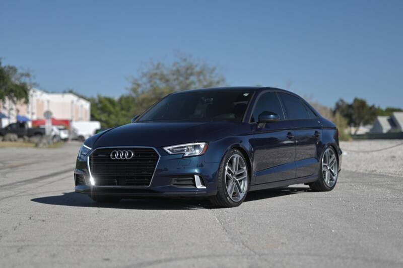 2018 Audi A3 for sale at EURO STABLE in Miami FL