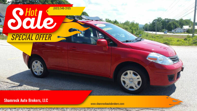 2011 Nissan Versa for sale at Shamrock Auto Brokers, LLC in Belmont NH