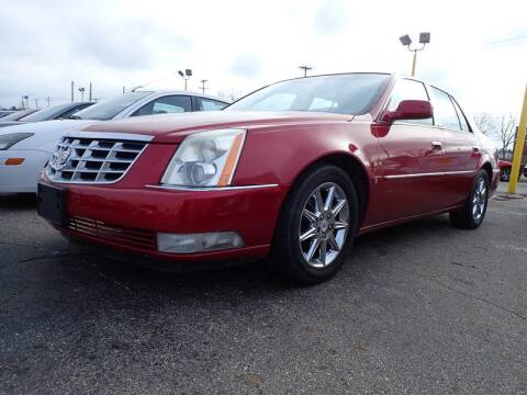 2010 Cadillac DTS for sale at RPM AUTO SALES in Lansing MI