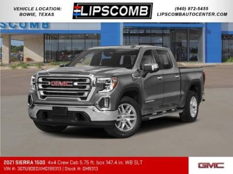 2021 GMC Sierra 1500 for sale at Lipscomb Auto Center in Bowie TX