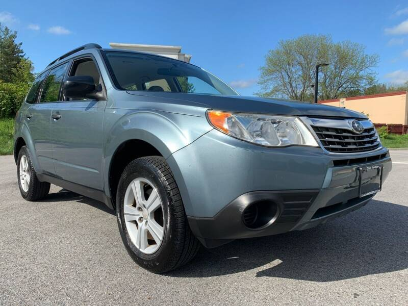 2010 Subaru Forester for sale at Auto Warehouse in Poughkeepsie NY