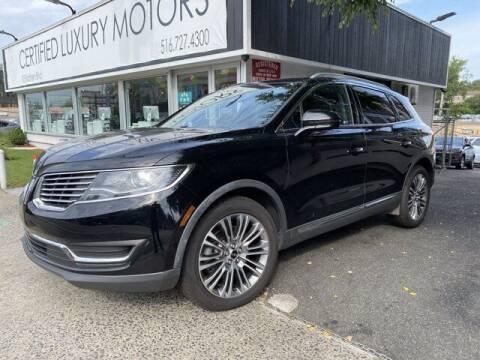 2016 Lincoln MKX for sale at CERTIFIED LUXURY MOTORS OF QUEENS in Elmhurst NY