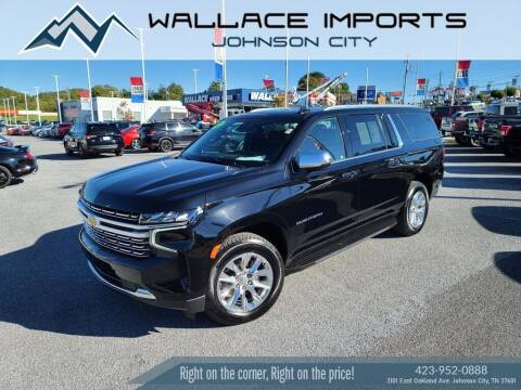 2021 Chevrolet Suburban for sale at WALLACE IMPORTS OF JOHNSON CITY in Johnson City TN