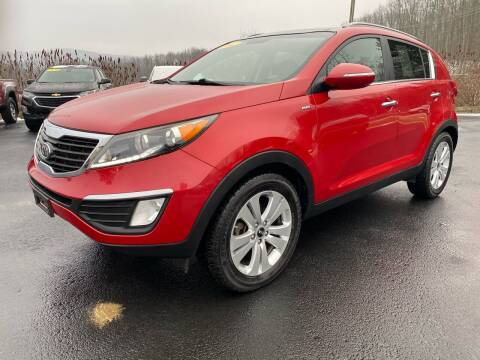 2012 Kia Sportage for sale at Pine Grove Auto Sales LLC in Russell PA