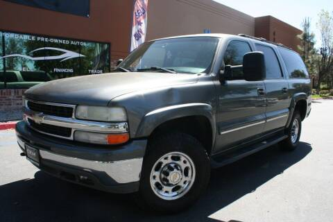 2001 Chevrolet Suburban for sale at CK Motors in Murrieta CA