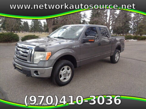 2010 Ford F-150 for sale at Network Auto Source in Loveland CO