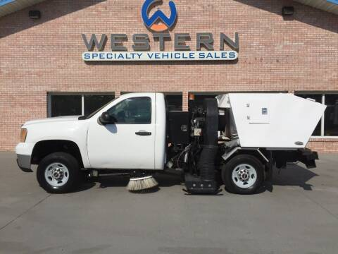 2010 GMC Street Sweeper for sale at Western Specialty Vehicle Sales in Braidwood IL