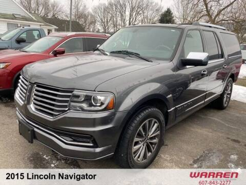 2015 Lincoln Navigator L for sale at Warren Auto Sales in Oxford NY