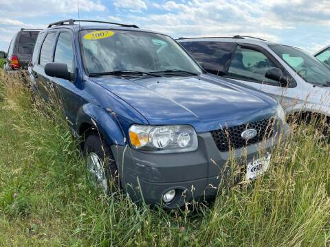 2007 Ford Escape Hybrid for sale at Alan Browne Chevy in Genoa IL