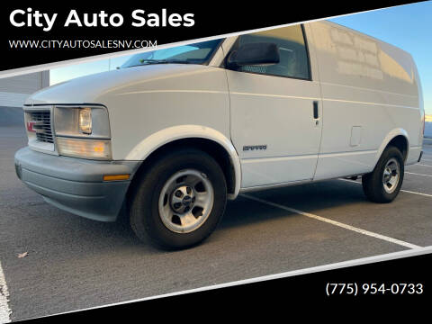 2000 GMC Safari Cargo for sale at City Auto Sales in Sparks NV