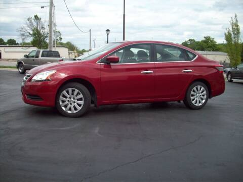 2014 Nissan Sentra for sale at Whitney Motor CO in Merriam KS