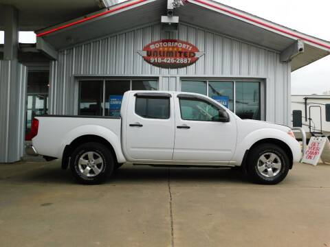 2012 Nissan Frontier for sale at Motorsports Unlimited in McAlester OK