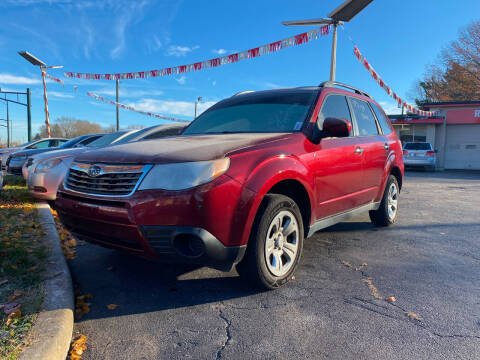 2010 Subaru Forester for sale at Right Place Auto Sales in Indianapolis IN