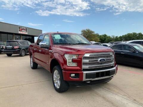 2017 Ford F-150 for sale at KIAN MOTORS INC in Plano TX
