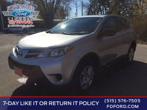 2015 Toyota RAV4 for sale at Fort Dodge Ford Lincoln Toyota in Fort Dodge IA