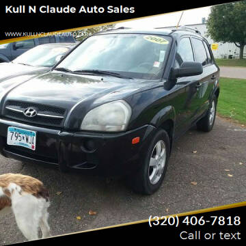 2007 Hyundai Tucson for sale at Kull N Claude Auto Sales in Saint Cloud MN