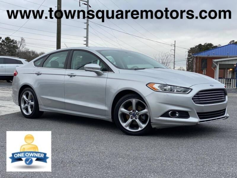 2014 Ford Fusion for sale at Town Square Motors in Lawrenceville GA