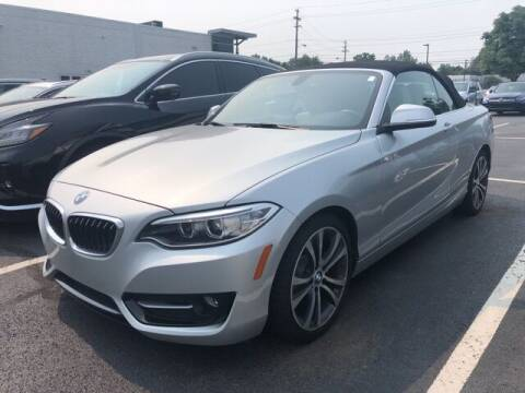 2016 BMW 2 Series for sale at Mercedes-Benz of North Olmsted in North Olmsted OH