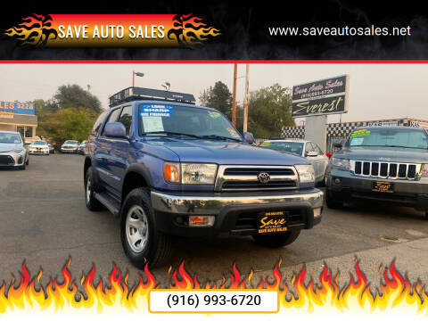 2000 Toyota 4Runner for sale at Save Auto Sales in Sacramento CA