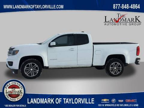 2019 Chevrolet Colorado for sale at LANDMARK OF TAYLORVILLE in Taylorville IL