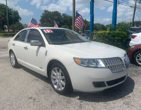 2012 Lincoln MKZ Hybrid for sale at AUTO PROVIDER in Fort Lauderdale FL
