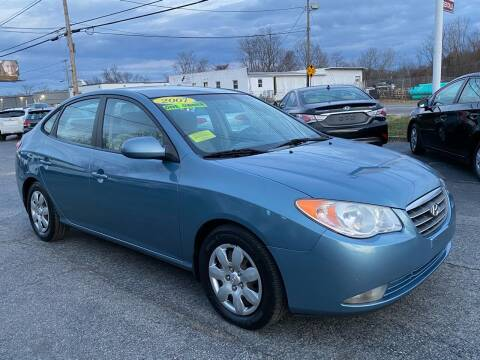 2007 Hyundai Elantra for sale at MetroWest Auto Sales in Worcester MA