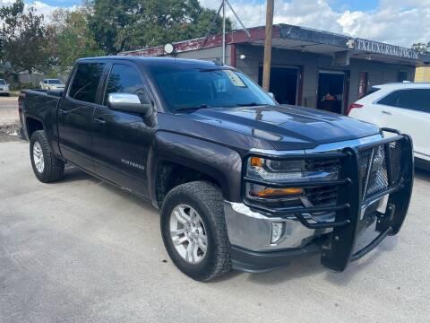 2016 Chevrolet Silverado 1500 for sale at Texas Luxury Auto in Houston TX