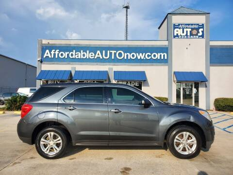 2011 Chevrolet Equinox for sale at Affordable Autos in Houma LA
