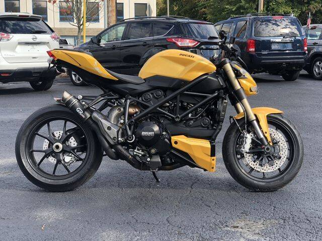 2012 Ducati Streetfighter 848 for sale at All Star Auto  Cycle in Marlborough MA